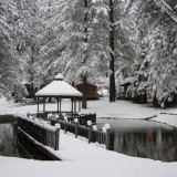 Camping log cabins in Nevada city gold country