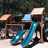 Camping playground for kids Nevada City