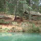 Cabin camping Nevada County Gold Country